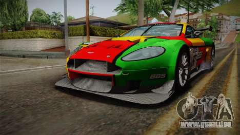 Aston Martin Racing DBRS9 GT3 2006 v1.0.6 Dirt pour GTA San Andreas