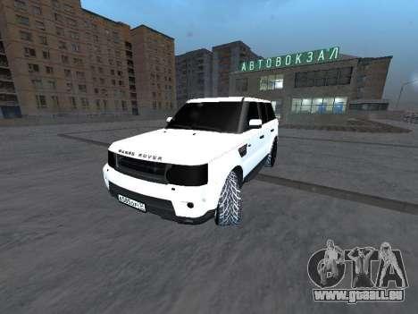 Range Rover Sport pour GTA San Andreas vue de droite