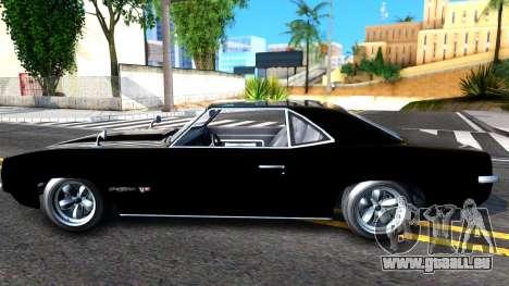 GTA V Declasse Vigero pour GTA San Andreas laissé vue