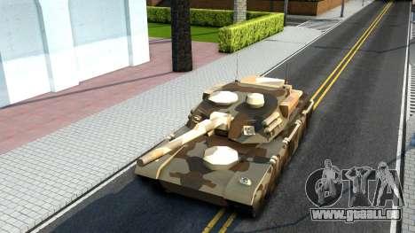 Rhino GTA V pour GTA San Andreas sur la vue arrière gauche