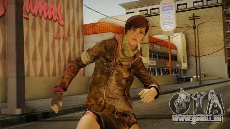 RE Revelations 2 - Moira Burton Survivor pour GTA San Andreas