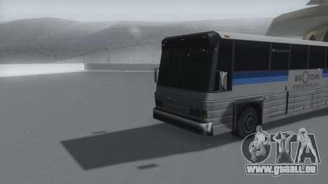 Coach Winter IVF pour GTA San Andreas vue de droite