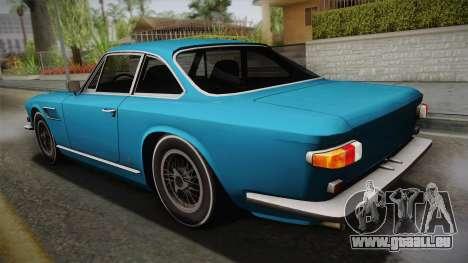 Maserati Serbin 4000 v0.1 (Beta) pour GTA San Andreas laissé vue