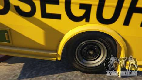 GTA 5 Carro Forte Prosegur Brasil droite vue latérale