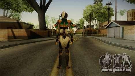 Dynasty Warriors 8 - Xing Cai pour GTA San Andreas troisième écran
