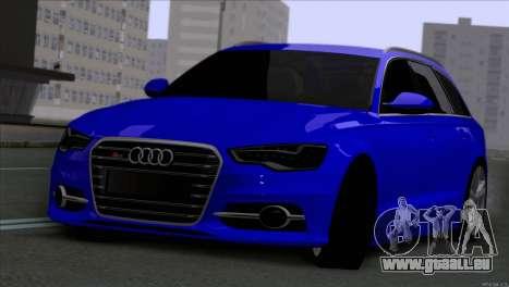 AUDI RS6 2014 pour GTA San Andreas