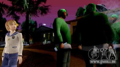 Resident Evil ORC - Sherry Birkin (YoungKid) pour GTA San Andreas deuxième écran
