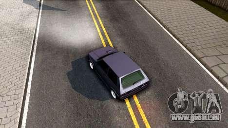 Yugo Koral 45 Sport Tuning pour GTA San Andreas vue arrière
