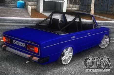 VAZ 2106 KBR pour GTA San Andreas
