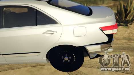 GTA 5 Toyota Camry 2011 DoN DoN Edition hinten rechts
