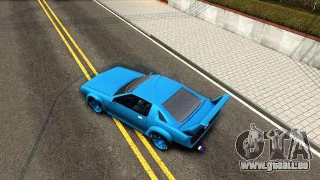 New Buffalo Custom pour GTA San Andreas vue de droite