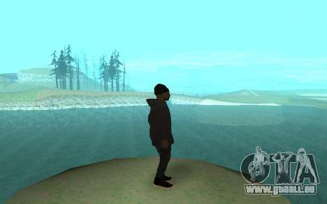 Winter Gangster für GTA San Andreas zweiten Screenshot
