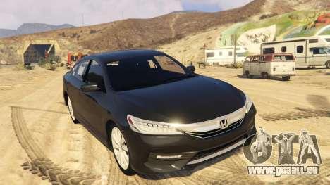 Honda Accord 2017 für GTA 5