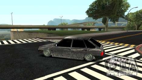 2109 version Hiver pour GTA San Andreas laissé vue