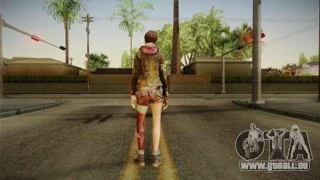 RE Revelations 2 - Moira Burton Survivor pour GTA San Andreas troisième écran