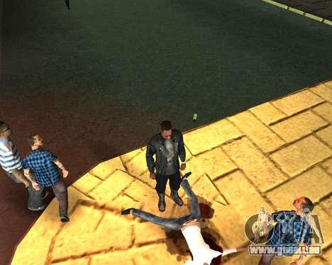 Pour transporter le cadavre de 2016 pour GTA San Andreas cinquième écran