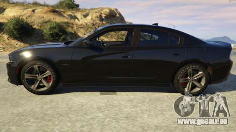 GTA 5 Dodge Charger 2016 linke Seitenansicht