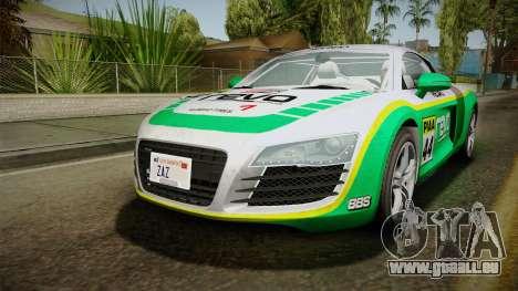 Audi R8 Coupe 4.2 FSI quattro EU-Spec 2008 YCH für GTA San Andreas Motor