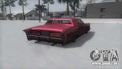 Remington Winter IVF pour GTA San Andreas laissé vue