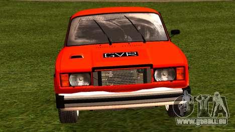 VAZ 2105-patch 4.0 für GTA San Andreas rechten Ansicht