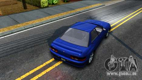 GTA V Zirconium Stratum Sedan pour GTA San Andreas vue arrière