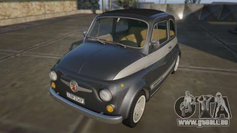 Fiat Abarth 595ss Racing ver pour GTA 5