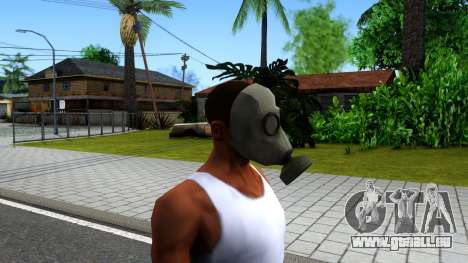 Gas Mask From Call of Duty Modern Warfare 2 für GTA San Andreas dritten Screenshot