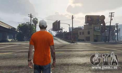 GTA 5 Cap Charlotte Hornets für Trevor dritten Screenshot