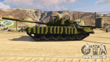 GTA 5 Tank T-72 linke Seitenansicht