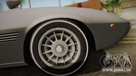 Maserati Ghibli v0.1 (Beta) pour GTA San Andreas vue de droite