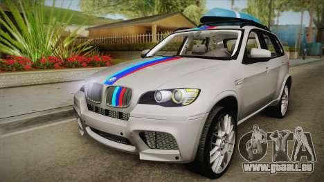 BMW X5M 2012 Special pour GTA San Andreas