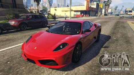 Ferrari 430 Scuderia pour GTA 5