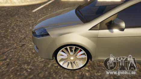 GTA 5 Fiat Bravo 2011 hinten rechts