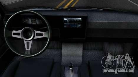 Volkswagen Caddy pour GTA San Andreas vue intérieure