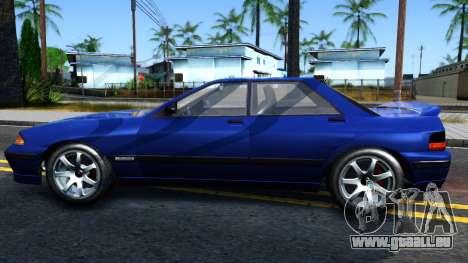 GTA V Zirconium Stratum Sedan pour GTA San Andreas laissé vue