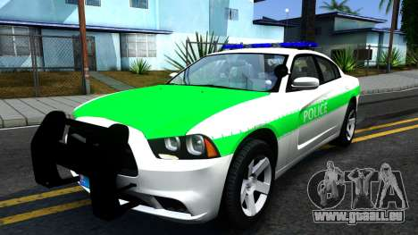 Dodge Charger German Police 2013 pour GTA San Andreas