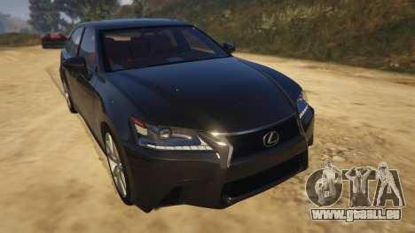 Lexus GS 350 pour GTA 5