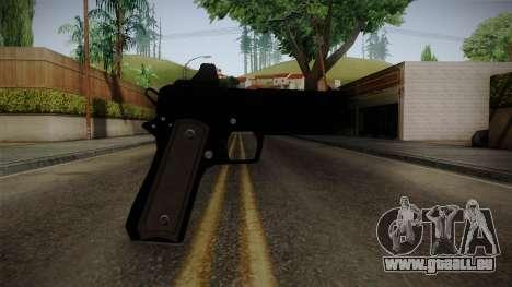 GTA 5 Heavy Pistol pour GTA San Andreas troisième écran