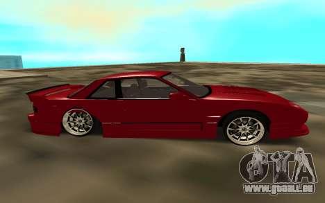 Nissan Onivea pour GTA San Andreas laissé vue