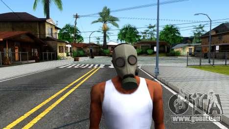 Gas Mask From Call of Duty Modern Warfare 2 für GTA San Andreas zweiten Screenshot