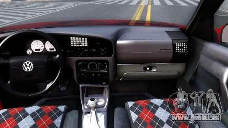 Volkswagen Golf Mk3 1997 für GTA San Andreas Innenansicht