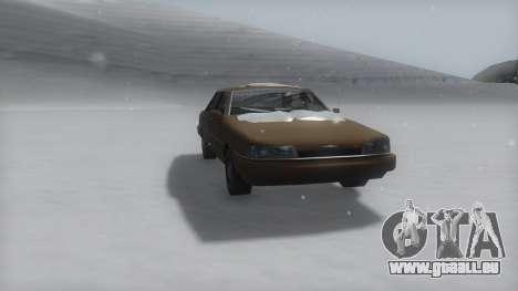 Primo Winter IVF pour GTA San Andreas vue de droite