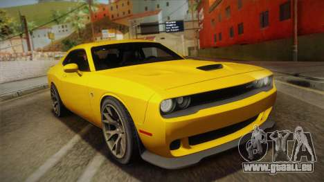 Dodge Challenger Hellcat 2015 für GTA San Andreas