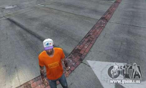 GTA 5 Cap Charlotte Hornets für Trevor zweite Screenshot