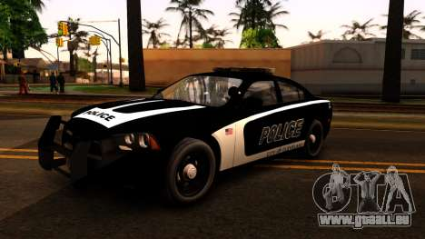 2014 Dodge Charger Cleveland TN Police für GTA San Andreas linke Ansicht