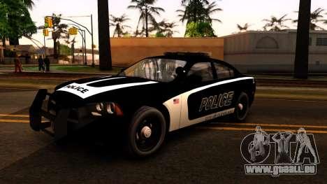 2014 Dodge Charger Cleveland TN Police für GTA San Andreas linke Ansicht
