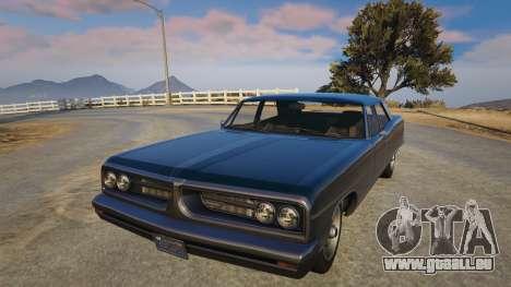 TLAD Regina Sedan pour GTA 5