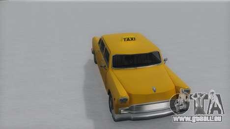 Cabbie Winter IVF für GTA San Andreas rechten Ansicht