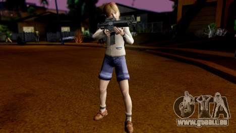 Resident Evil ORC - Sherry Birkin (YoungKid) pour GTA San Andreas