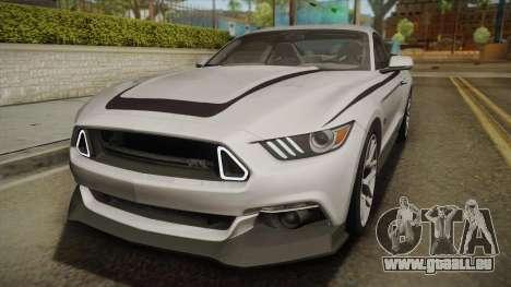 Ford Mustang RTR Spec 2 2015 pour GTA San Andreas vue de côté
